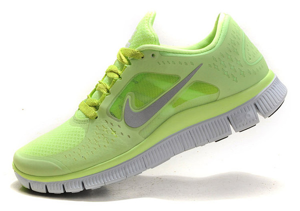 Lime Green Nike 5.0 Running Shoes For Women | Professional