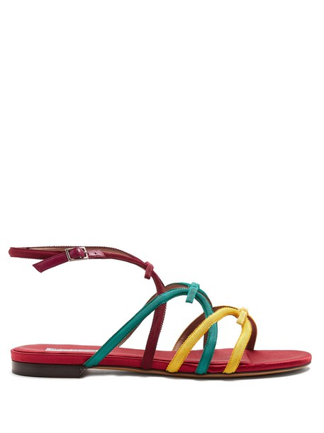 tabitha simmons sandals flat sandals shoes