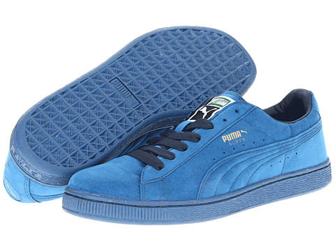 PUMA Suede Classic Women's Sneaker Vallarta Blue/Midnight Navy for Women