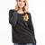 Amira Sweater Dark Grey Round neck pullover - Women's Tops Dr Denim - 35177