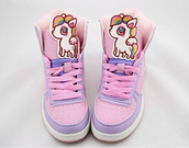 shoes,fairy kei,unicorn,lolita,harajuku,decora,sneakers