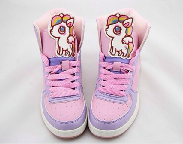 shoes fairy kei unicorn lolita harajuku decora sneakers