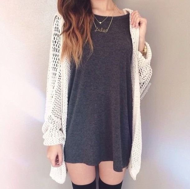 dress cardigan style fashion