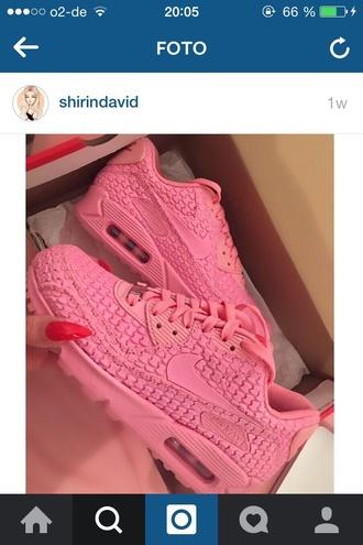 shoes sneakers nike pink snake skin