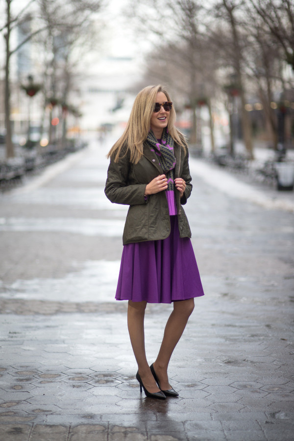 the classy cubicle coat dress scarf belt jewels sunglasses shoes