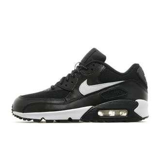 shoes nike nike air max 90 mesh black and white air max premium