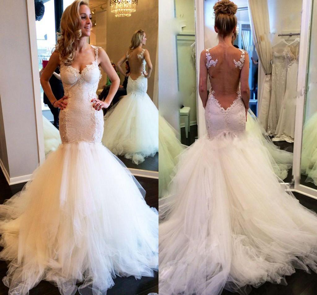 Gorgeous galia lahav backless lace wedding dresses 2016 for Gorgeous backless wedding dresses