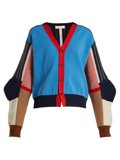 Toga cardigan cardigan cotton light blue light blue sweater