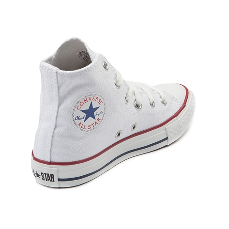 Youth Converse All Star Hi Sneaker, Optical White, at Journeys Shoes