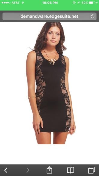 dress black dress bodycon dress mini dress