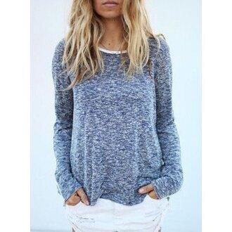 sweater gray grey sweater grey top