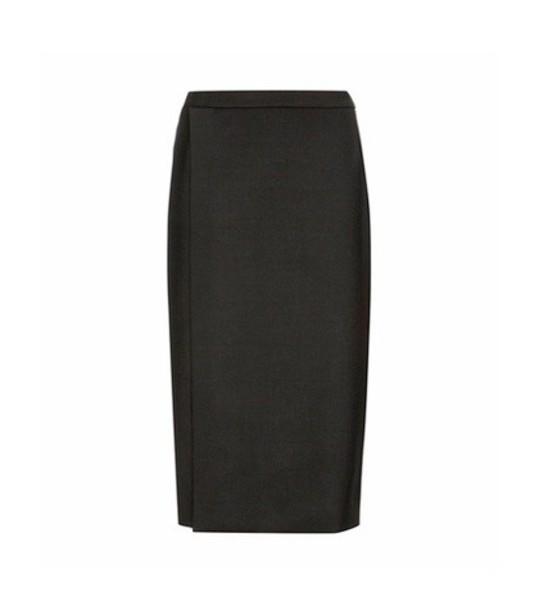 Balenciaga skirt wool black