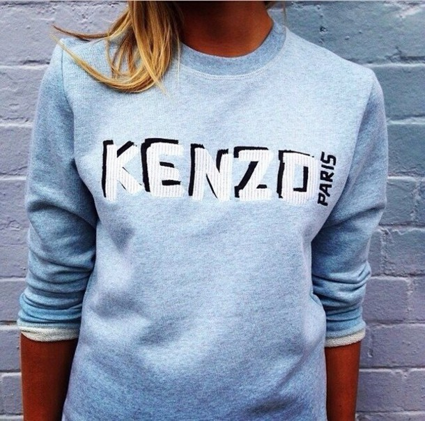 sweater svitshot blue