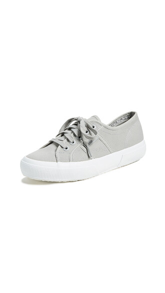 classic sneakers light grey shoes