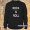 Rock & roll sweatshirt - teenamycs