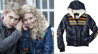 retro jacket bomber jacket the carrie diaries carrie bradshaw 80's 80s style furlined hooded carrie diaries target mossimo