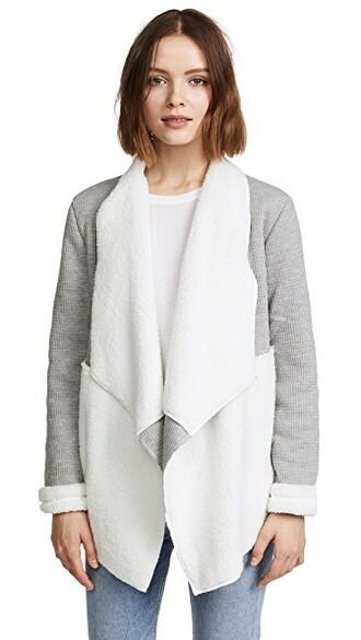 cardigan grey heather grey sweater