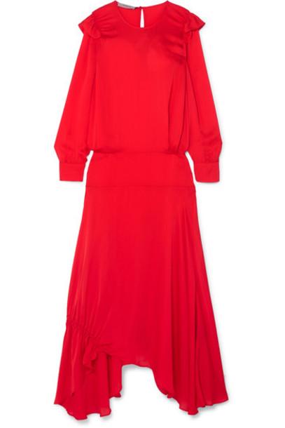 Preen Line dress maxi dress maxi red