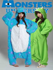 Adult Monsters University Mike Wazowski Sulley Costume Pajamas Cosplay Onesie | eBay