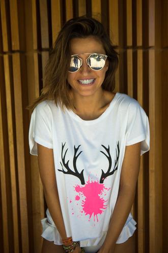 lovely pepa blogger shoes swimwear shorts t-shirt sunglasses