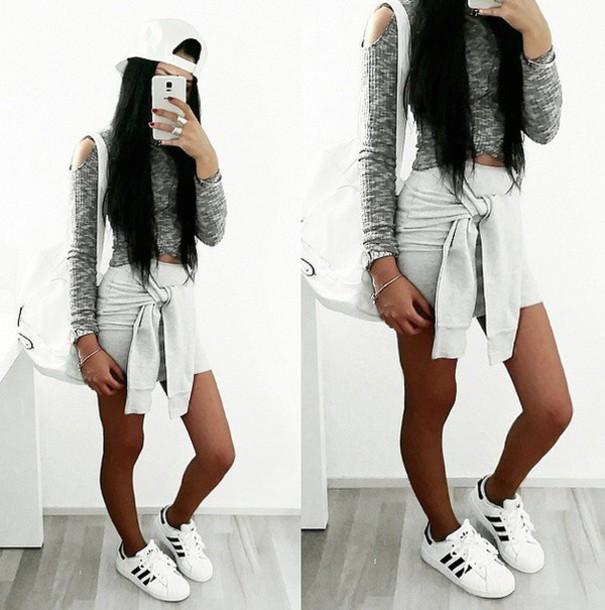 adidas femme tumblr