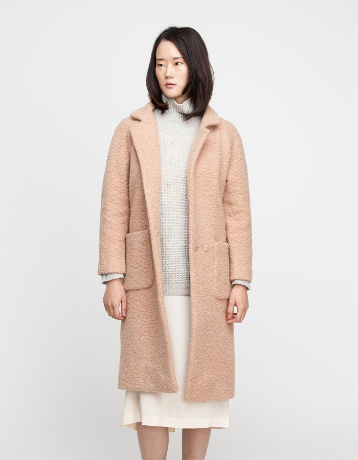 Ganni / Teddy Wrap Coat