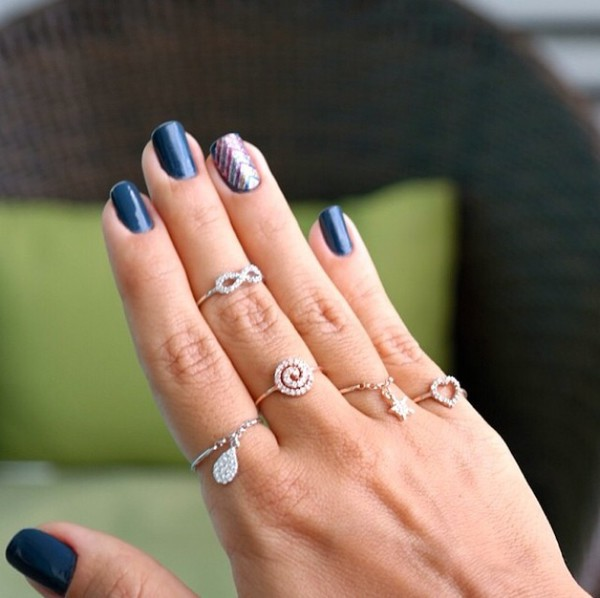 jewels ring knuckle ring finger
