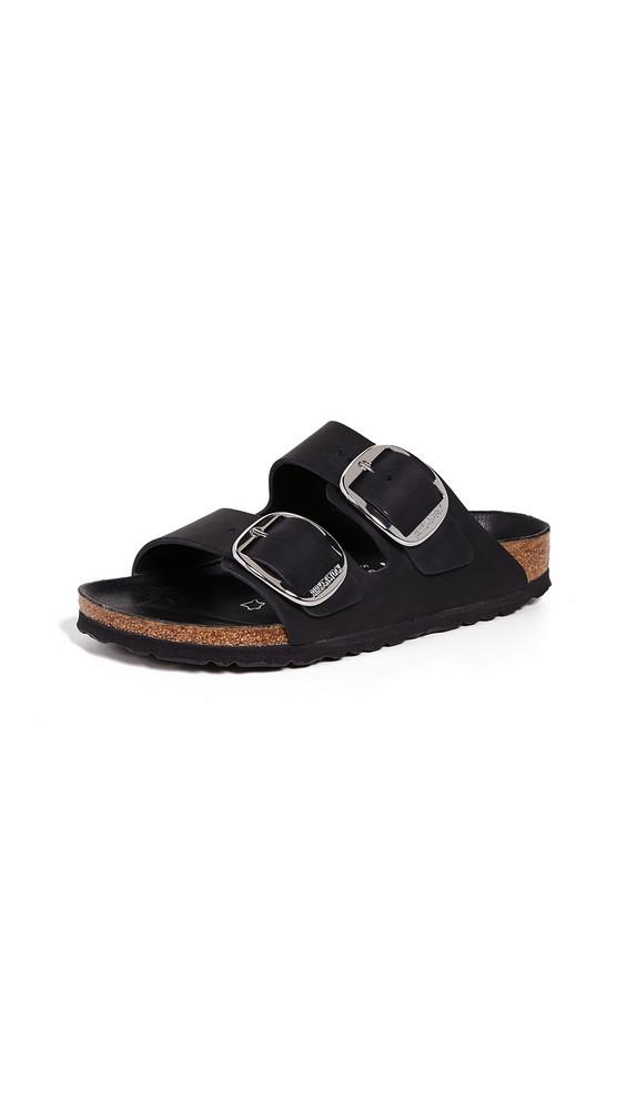Birkenstock Arizona Big Buckle Sandals in black