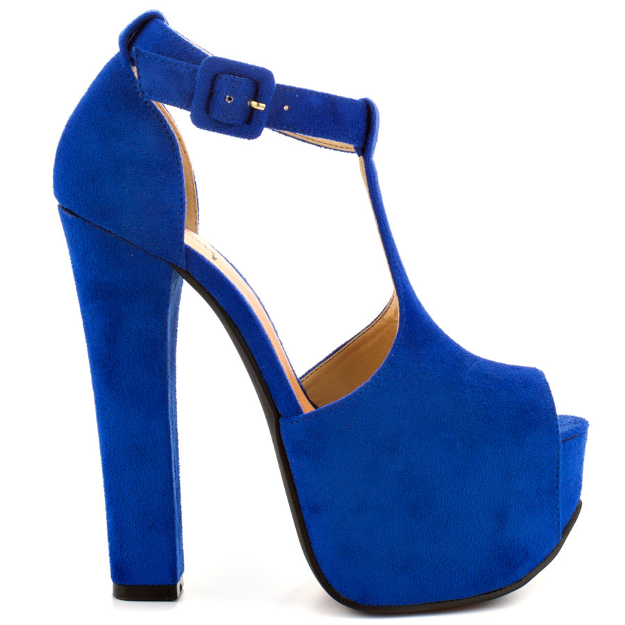 6f7eb5d8bd8 Luichiny s Blue More Of It - Cobalt Suede for 89.99 direct from heels.com