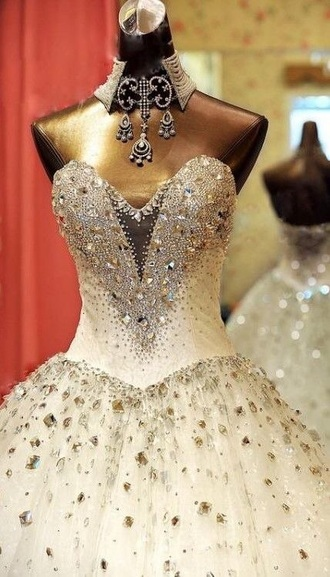 dress wedding dress sleeveless dress sleeveless white dress long dress beaded sparkle dress gorgeous beautiful