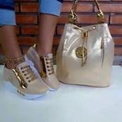 shoes,bag,mk bags sale,michael kors,michael kors bag,sneakers,gold