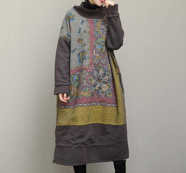 dress oversize bottoming dress maxi dress