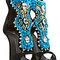 Giuseppe zanotti - high heel turquoise sandal