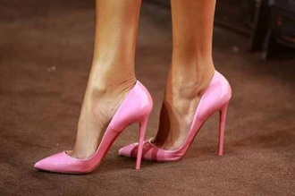 shoes pink pink shoes heels designer pink heels stilettos pumps light pink high heels girly style hot fashion