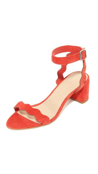 Loeffler Randall Emi City Sandals - Flame