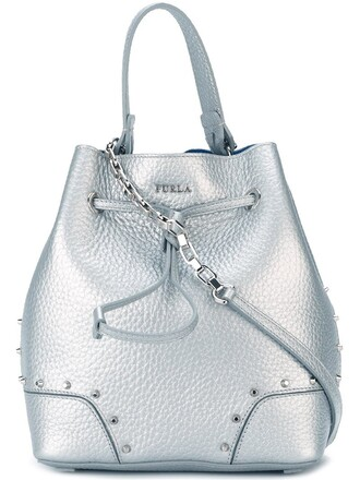 bag shoulder bag metallic