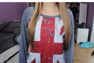 shirt union jack longsleeve british
