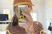 phone cover,tumblr,tumblr girl,tumblr fashion,grunge,grunge wishlist,grunge accessory,yellow,flowers