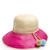 Palomino 2 pompom-embellished raffia hat
