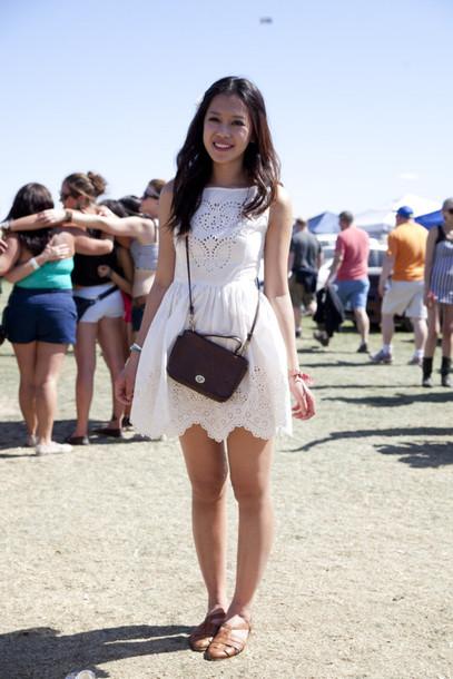 dress white dress lace dress summer dress lace short dress sweet dress white dress crochet