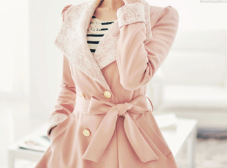pink cute coat classy baby pink winter coat winter outfits adorable