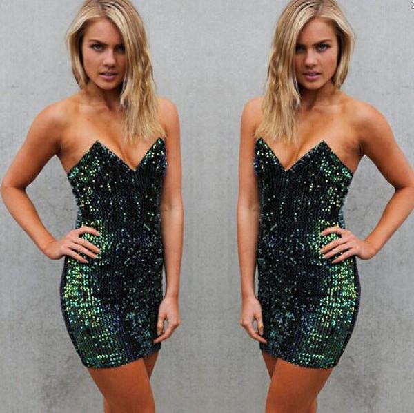 Bridgette sequin dress