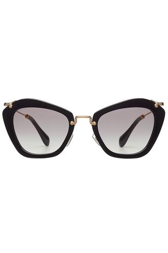 noir sunglasses gold