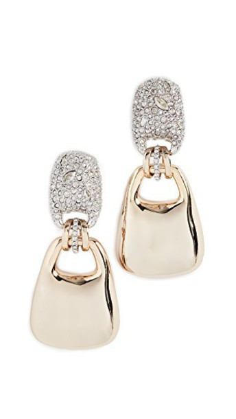 Alexis Bittar earrings gold jewels