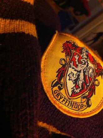 scarf hp harry potter gryffindor