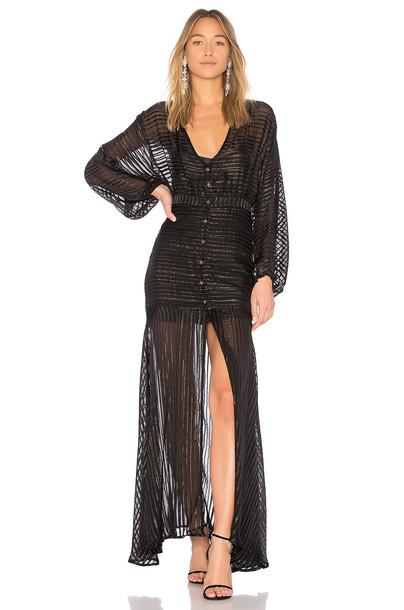 Asilio dress fall dress black