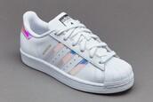 shoes,adidas superstars,metallic shoes,white,adidas,silver