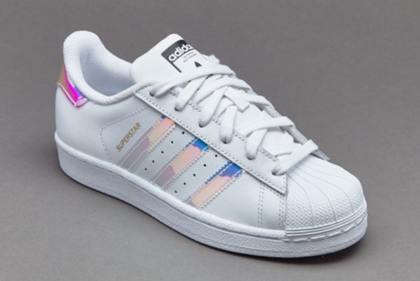shoes, adidas superstars, metallic shoes,