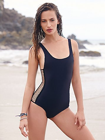 Free People Bordeaux One Piece