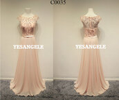 dress,pink,prom dress,long prom dress,evening dress,bridesmaid